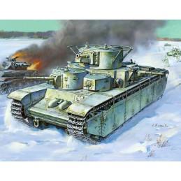 Model Kit tank 3667 - T-35...