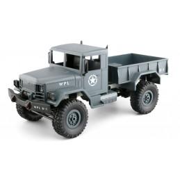 Vojenský truck 1:16 šedý...
