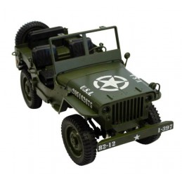 Legendární Jeep Willys 1:12...