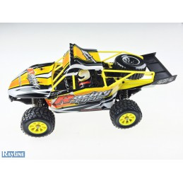 Funrace Sand Buggy 70km/h!...