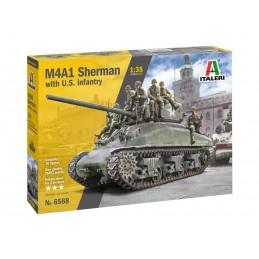 Model Kit tank 6568 - M4A1...