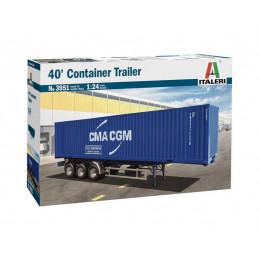 Model Kit truck 3951 - 40'...