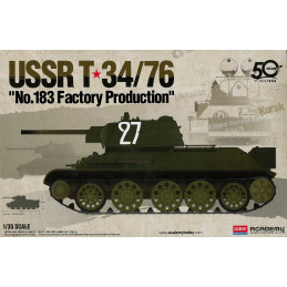 Model Kit tank 13505 - USSR...