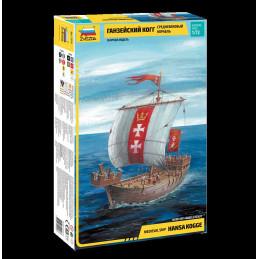 Model Kit loď 9018 - Hansa...