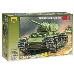 Model Kit tank 3539 - KV-1...