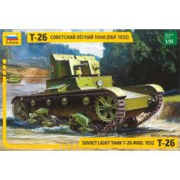 Model Kit tank 3542 - T-26...