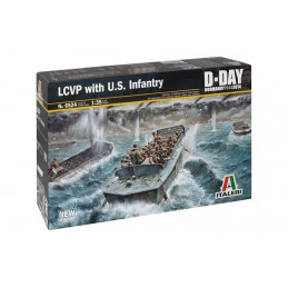 Model Kit loď 6524 - LCVP...