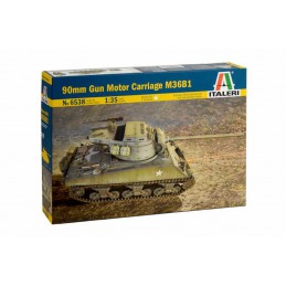 Model Kit tank 6538 - 90mm...